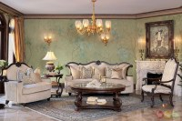 Victoria Palace Luxury Traditional Living Room Furniture ...