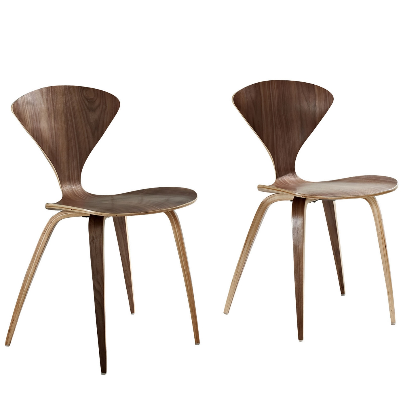 dark walnut dining chairs baby chair clips onto table vortex modern wood panel with lacquered