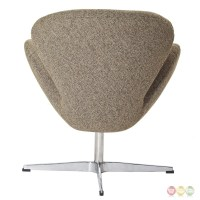 Wing Modern Upholstered Lounge Chair With Aluminum Frame ...