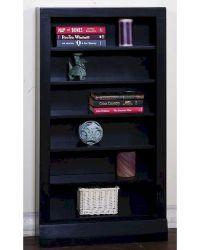 Black Open CD/ DVD Rack by Sunny Designs SU