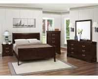Coaster Louis Philippe Bedroom Set in Cappuccino CO-202411Set