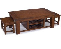 Cocktail Table with 2 Stools Parker Lane by Magnussen MG ...
