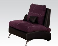 Contemporary Chair Jolie Purple by Acme Furniture AC51752