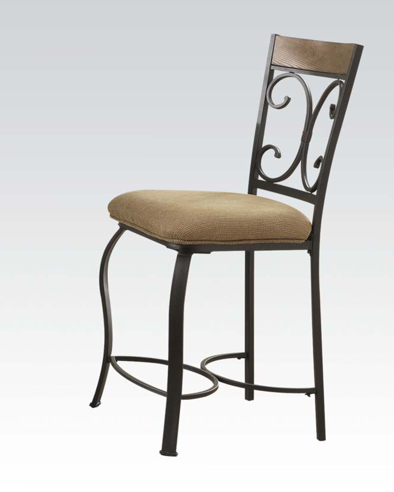 Counter Height Chair Kiele by Acme Furniture AC71157 Set