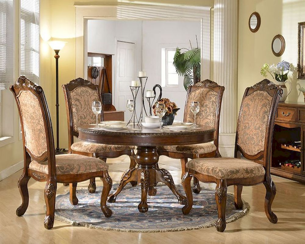 pub style kitchen table aide appliances dining set w/ round in traditional ...
