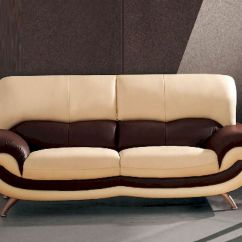 Sofa Mart Leather Chairs Jennifer Convertible Bed Reviews European Furniture Modern Two Tone 33ss12