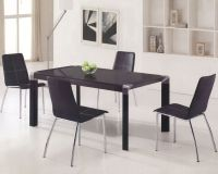 Glass Top Contemporary Dining Set OL