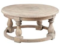 Hekman Round Parquet Coffee Table HE-27324