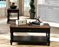 Intercon Solid Wood Coffee Table Set Gramercy Park ...