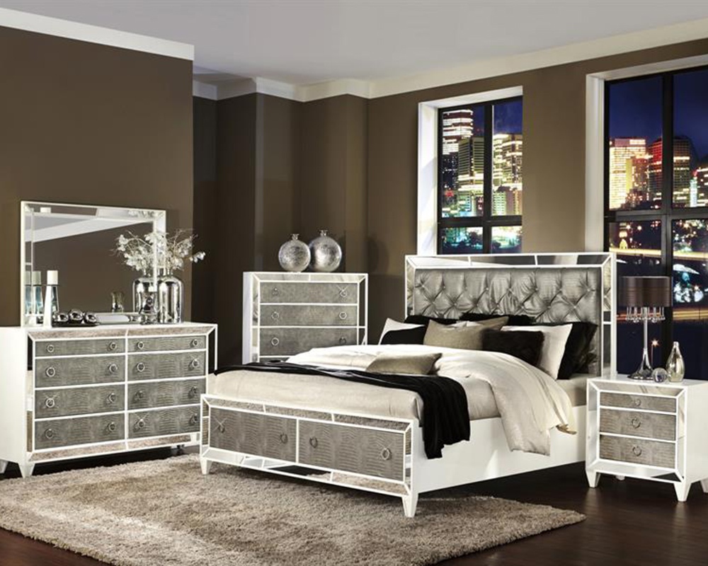 Luxury Bedroom Set Monroe by Magnussen MGB293554SET