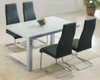 Modern Glass Top Dining Set OL