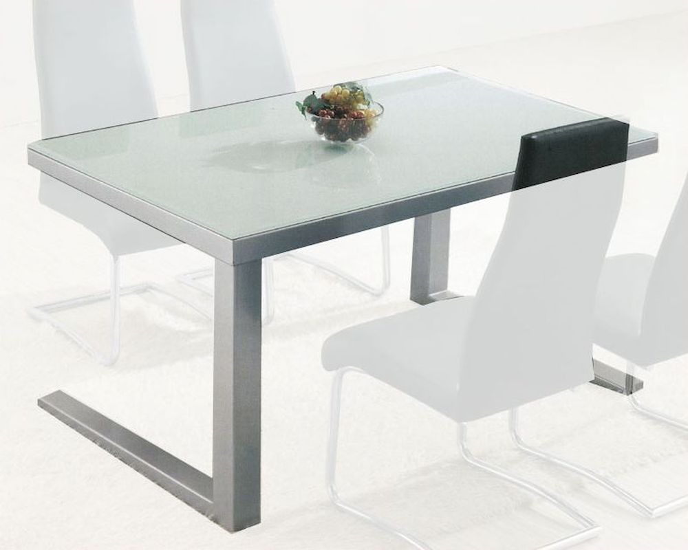 Modern Glass Top Dining Table OL