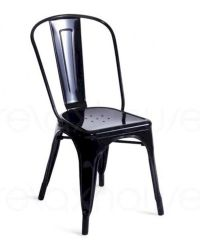 Modern Style Metal Side Chair 44D5816 (Set of 2)