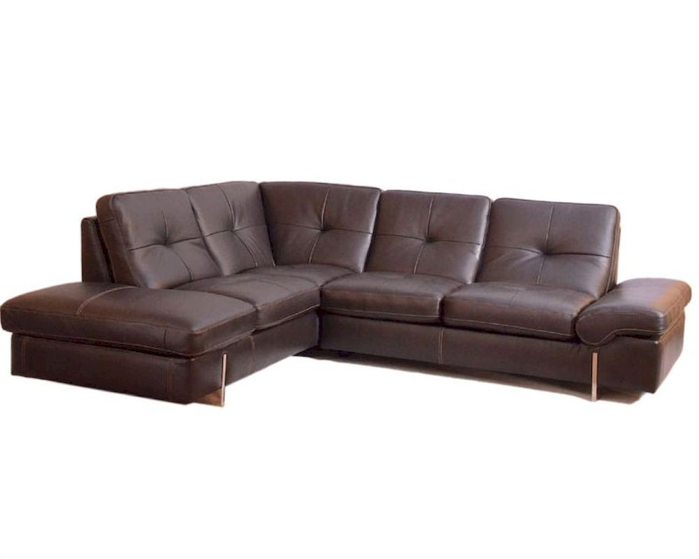 sectional Sofa in Italian Leather 33LS221