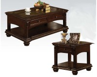 Traditional Coffee Table Set in Cherry Anondale by Acme ...