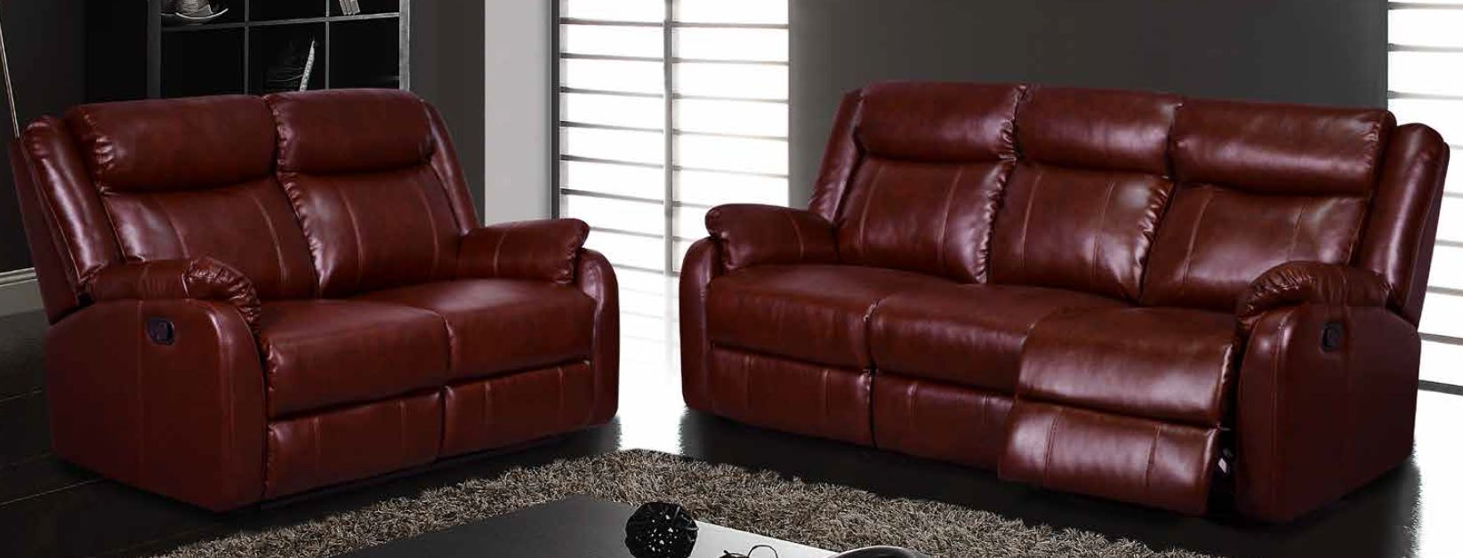 abbyson leather sofa reviews childrens target burgundy and loveseat modern ...