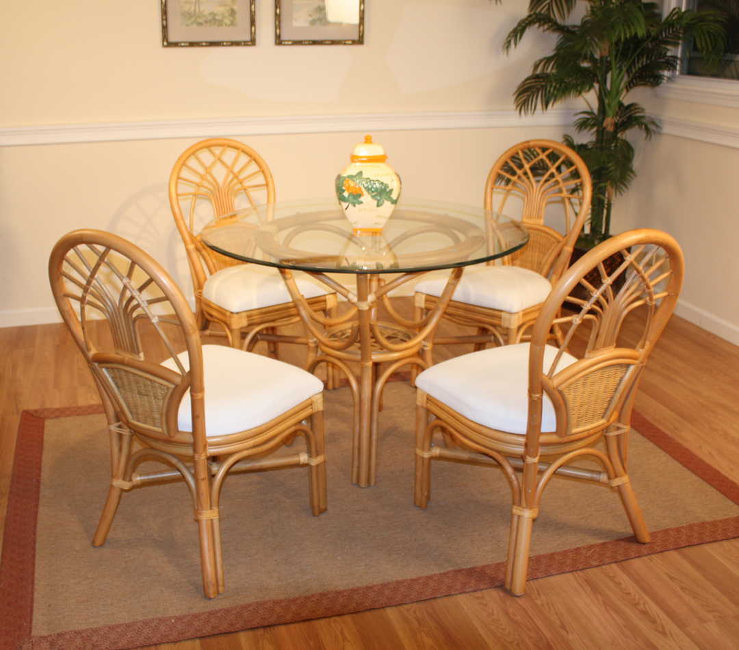 rattan table and chairs adjustable office chair dining set of 5 jupiter