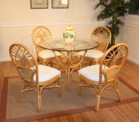 Wicker Chair And Table Set & Amazon.com Merax 4-piece ...