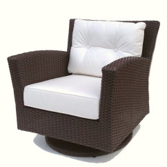Wicker Swivel Patio Chair Black Resin Chairs Outdoor Rocker Sonoma