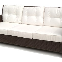 Rattan Outdoor Sofa Average Cost To Reupholster A Sleeper Wicker Sofas Thesofa