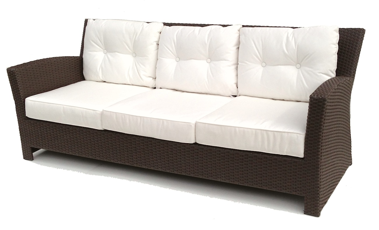 rattan outdoor sofa how to dry clean sofas at home wicker thesofa