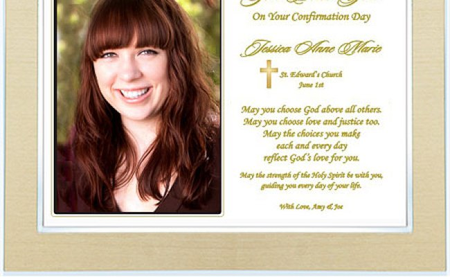Personalized Confirmation Gift For Him Or Her