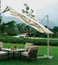 Southern Patio 10'x10' Square Aluminum Offset Umbrella