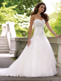 Strapless Empire Waist Wedding Dress | Cocktail Dresses 2016