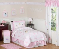 Ballerina Twin Bedding Collection