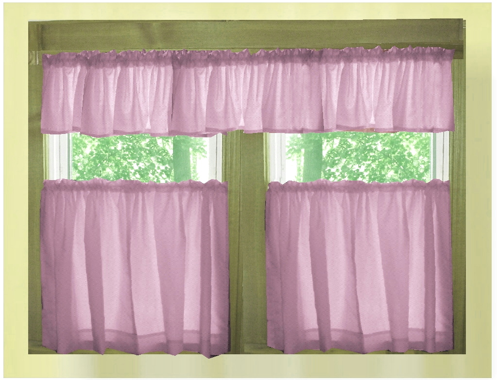 Pink Kitchen Valances – Ahoy
