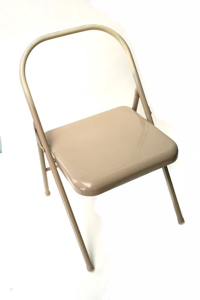 folding metal yoga chair covers for chairs backless