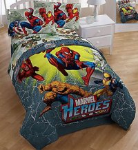 Marvel Heroes Full Comforter - Full Size Bedding