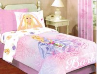 Barbie Roses Sheet Set in Full - Full Size Bedding