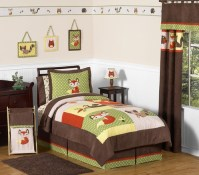 Woodland Forest Animals Kids Bedding