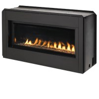 "FMI Paris Lights 43"" Linear Vent-Free Fireplace - Natural Gas"