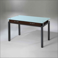 Dispensing Table with two drawers and Glass Top offered by ...