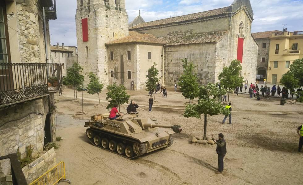Els tancs de 'Westworld' entren a Besalú