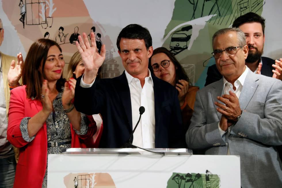 """Valls admet el """"fracàs"""" malgrat millorar els resultats de Ciutadans"""