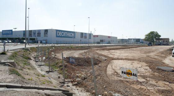 Las obras de la tienda de Ikea Alfafar avanzan a buen ritmo