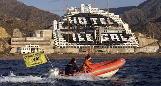 Hotel de El Algarrobico, finalmente ilegal y será derribado