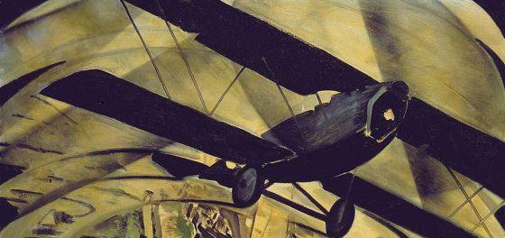 Tato (Guglielmo Sansoni), 'Volar sobre el Coliseo en espiral', 1930
