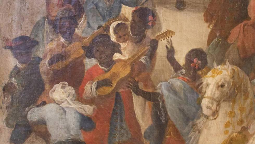 Vdeo La huella cultural de los negros esclavos en Espaa