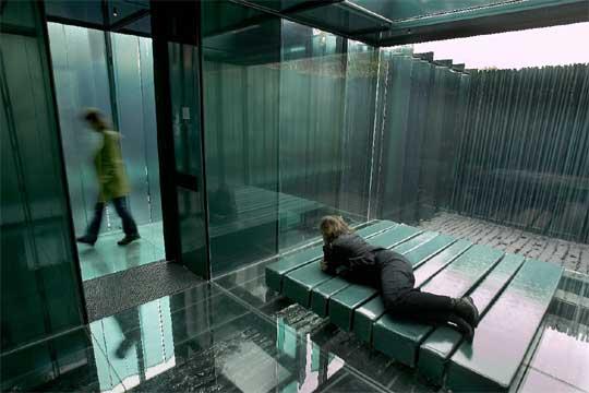 Uno de los pabellones de descanso del hotelrestaurante Les Cols  Edicin impresa  EL PAS
