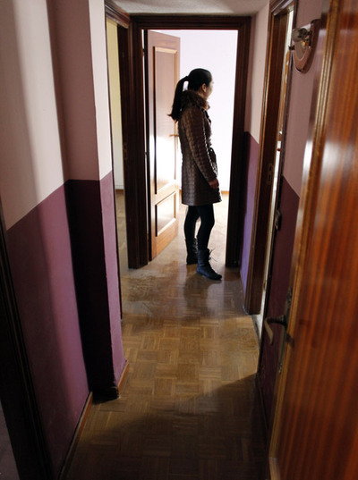 Aichai Hu in New Spanish Apartment