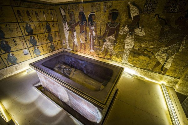 Fotos: Interior de la tomba de Tutankamon | Actualidad | EL PAÍS