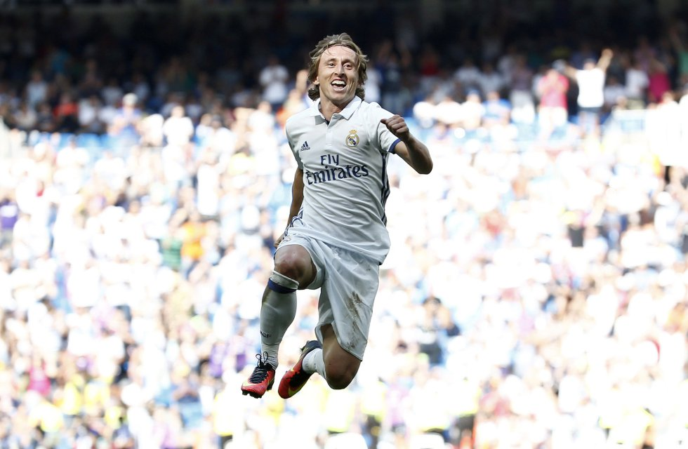 Luka Modric. El amo del Bernabéu