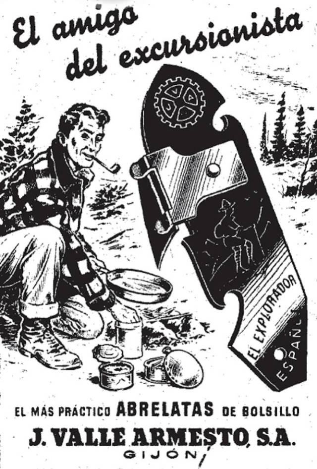Todavía hoy la mayoría de los hogares españoles guardan uno en el más recóndito cajón de cocina. Este abrelatas lleva con nosotros desde inicios del siglo XX, en 1906, cuando un industrial gallego llamado José Valle Armesto abrió en Gijón las puertas de un taller llamado El Explorador Español. De allí salió esta herramienta pensada para las latas de conserva que se producían precisamente en la ciudad asturiana. Aunque ya había muchos abrelatas en el mercado, este era multiusos, permitía abrir una lata o una botella y perforar el metal sin dificultad. Hoy en día esta tipología sigue existiendo, aunque fabricada por otras compañías, especialmente tras el fallecimiento de Armesto en 1960. ¿Quieres una prueba de su carácter legendario? Es la imagen de portada del libro de Rosalía Torrent 'El diseño industrial en España' (editorial Cátedra).