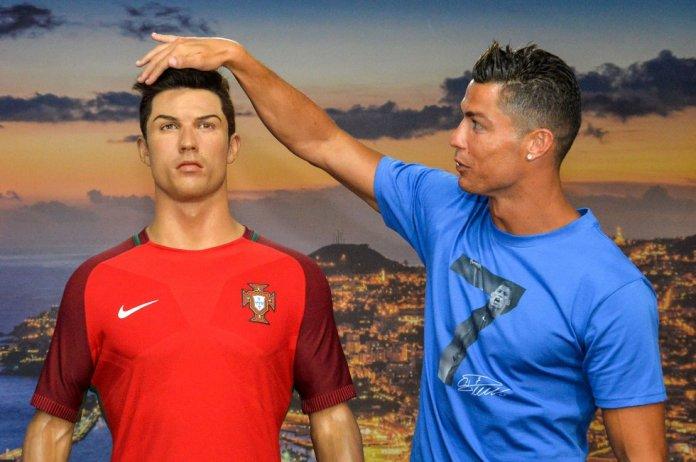 Enjunio de 2016, el futbolista viajaba hasta Madeira para descubrir su réplica en cera que se exhibe en el museo de la ciudad portuguesa.