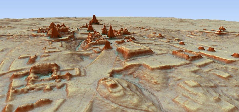Casas, estructuras defensivas, tumbas y hasta una pirámide de 30 metros de altura —que hasta ahora se pensaba que era una pequeña montaña— son algunas de las cerca de 60.000 estructuras descubiertas.