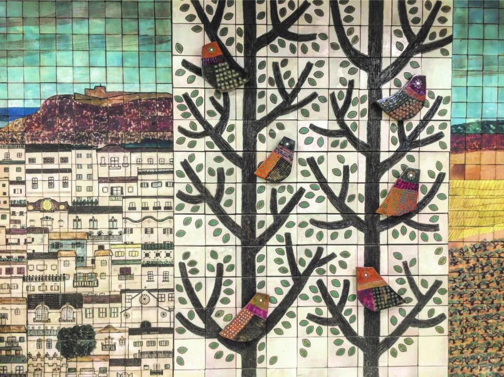 Una Barcelona en què arquitectes i artistes treballaven plegats